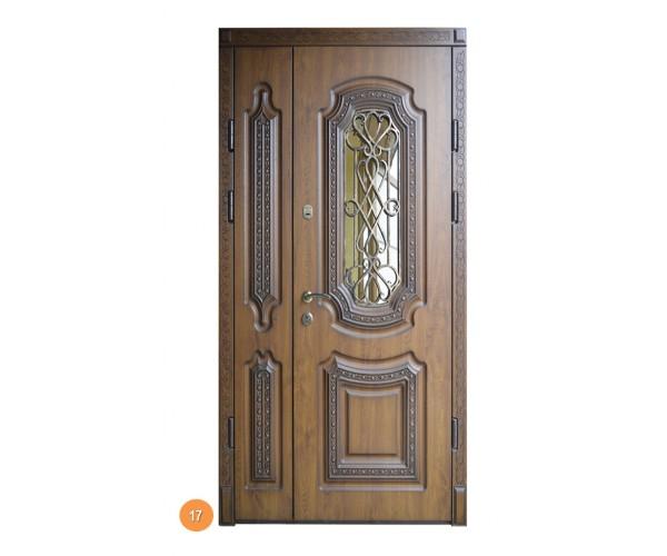"""Двері вуличні """"Еліт"""" модель 017"""