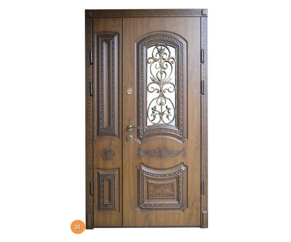 """Двері вхідні вуличні """"Еліт"""" модель 031"""