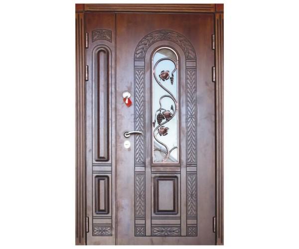 """Двері вхідні вуличні """"Еліт"""" модель 032"""