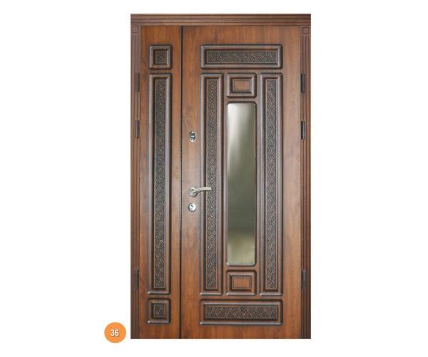 """Двері вуличні """"Еліт"""" модель 036"""