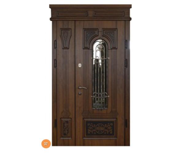 """Двері вхідні вуличні """"Еліт"""" модель 037"""