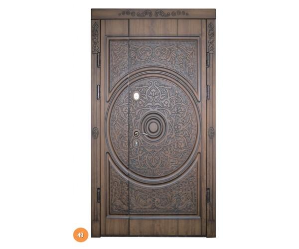 """Двері вхідні вуличні """"Еліт"""" модель 049"""