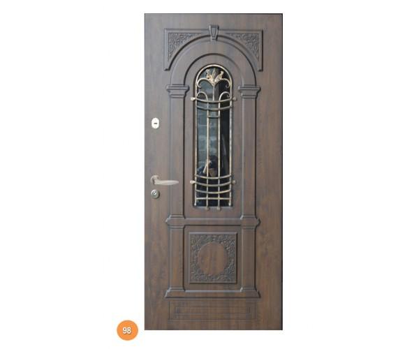 """Двері вхідні вуличні """"Еліт"""" модель 098"""