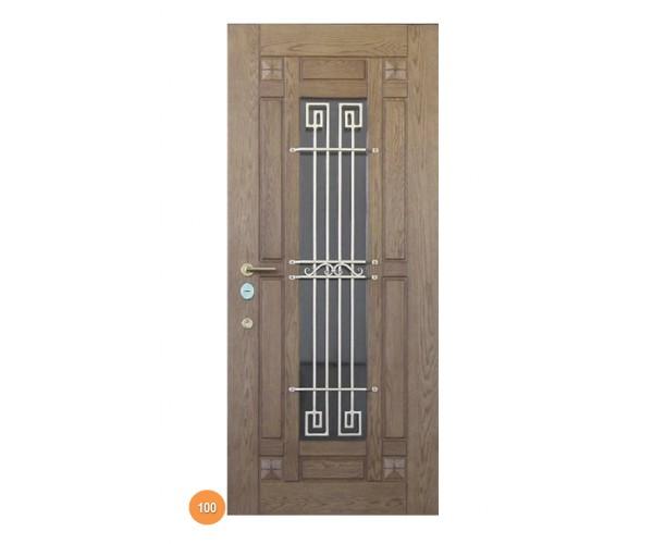 """Двері вхідні вуличні """"Еліт"""" модель 100"""