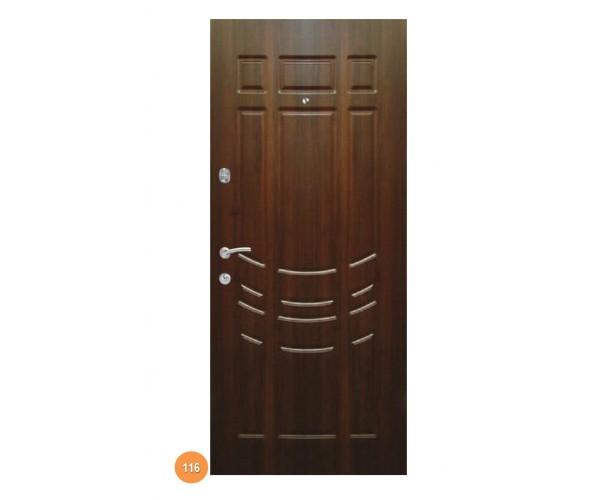 """Двері вуличні """"Еліт"""" модель 116"""