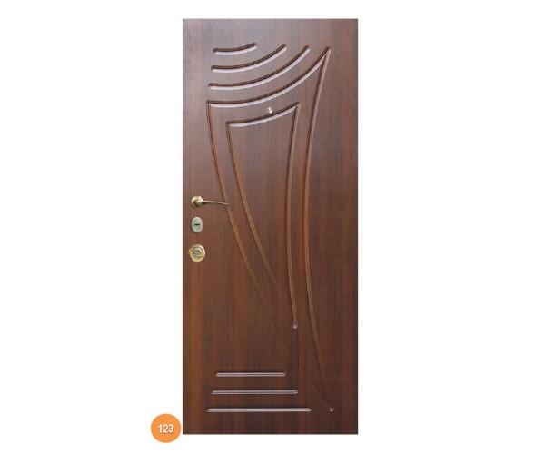 """Двері вхідні вуличні """"Еліт"""" модель 123"""