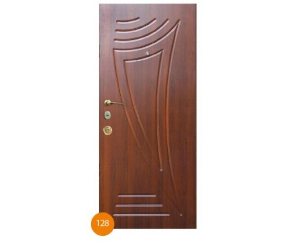 """Двері вхідні вуличні """"Еліт"""" модель 128"""