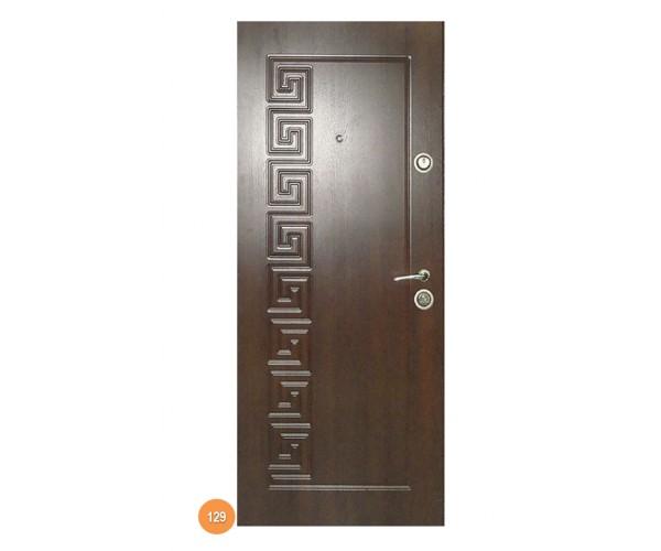 """Двері вхідні вуличні """"Еліт"""" модель 129"""