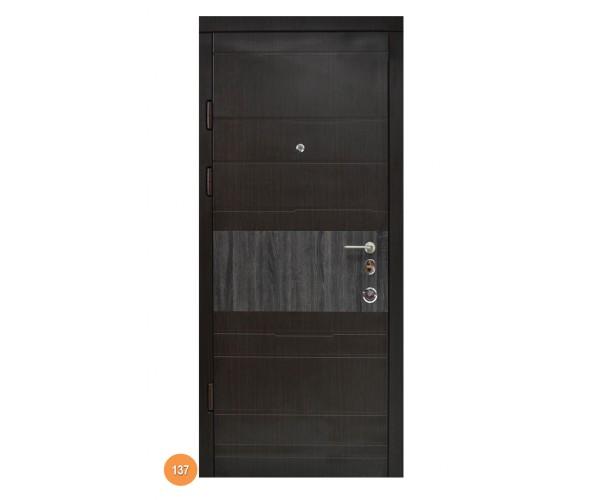 """Двері вуличні """"Еліт"""" модель 137"""