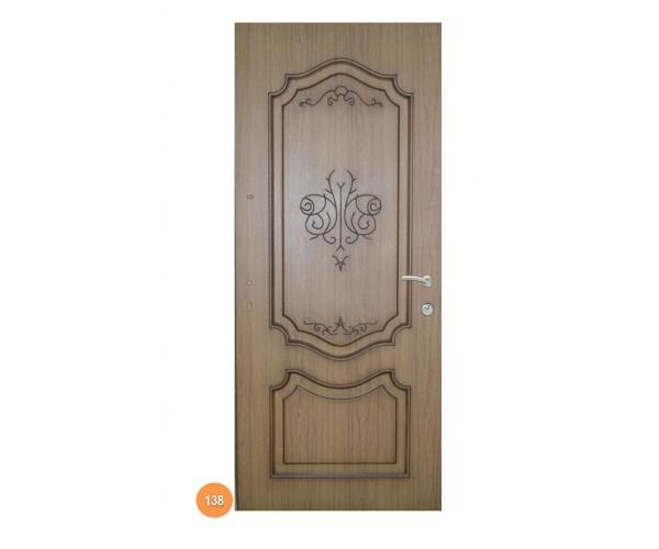 """Двері вхідні вуличні """"Еліт"""" модель 138"""