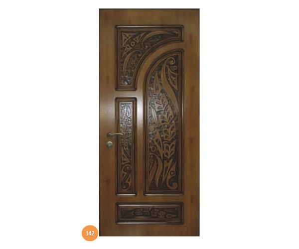 """Двері вхідні вуличні """"Еліт"""" модель 142"""