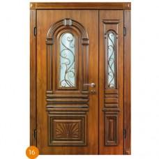 """Двері вхідні вуличні """"Еліт"""" модель 016"""