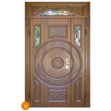 """Двері вхідні вуличні """"Еліт"""" модель 019"""