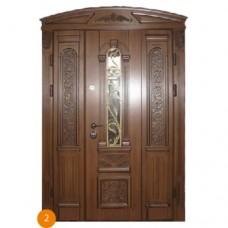 """Двері вхідні вуличні """"Еліт"""" модель 002"""