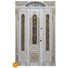 """Двері вхідні вуличні """"Еліт"""" модель 020"""