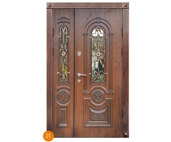 """Двері вхідні вуличні """"Еліт"""" модель 021"""