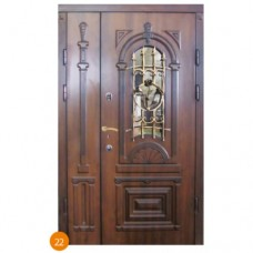 """Двері вхідні вуличні """"Еліт"""" модель 022"""