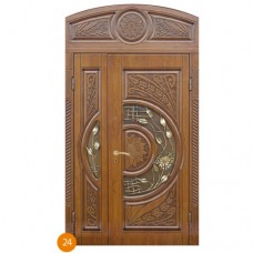 """Двері вхідні вуличні """"Еліт"""" модель 024"""