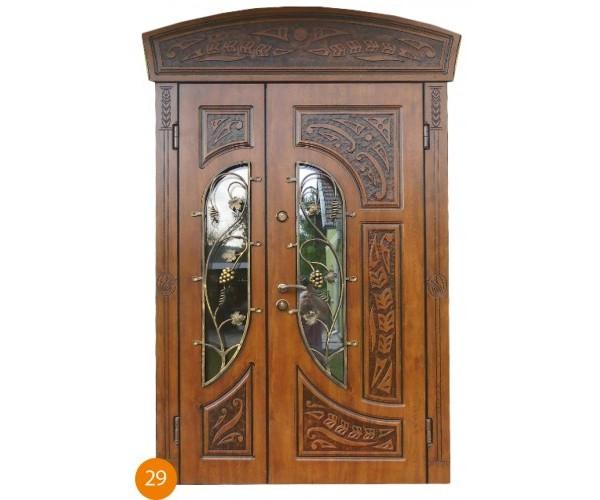 """Двері вуличні """"Еліт"""" модель 029"""