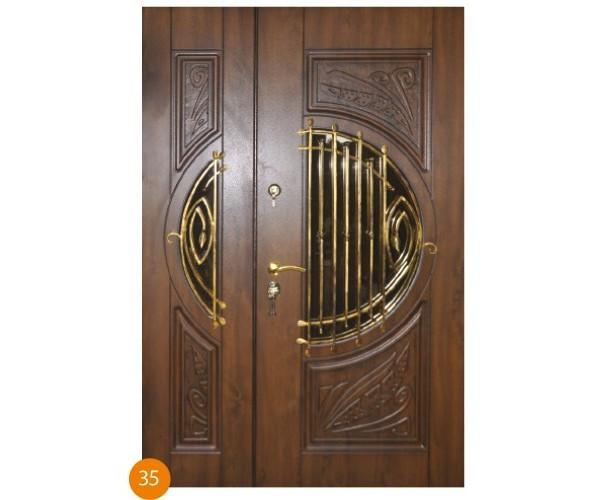 """Двері вхідні вуличні """"Еліт"""" модель 035"""