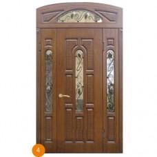 """Двері вхідні вуличні """"Еліт"""" модель 004"""