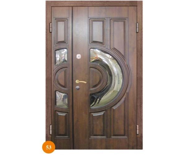 """Двері вхідні вуличні """"Еліт"""" модель 053"""