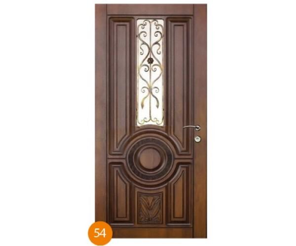"""Двері вуличні """"Еліт"""" модель 054"""