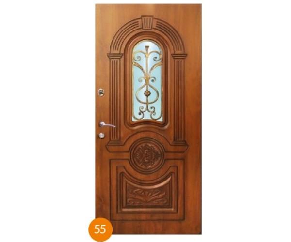 """Двері вхідні вуличні """"Еліт"""" модель 055"""