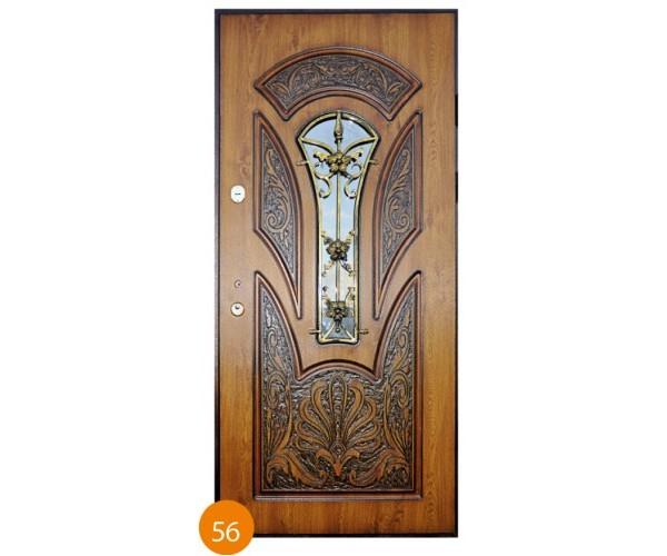 """Двері вхідні вуличні """"Еліт"""" модель 056"""