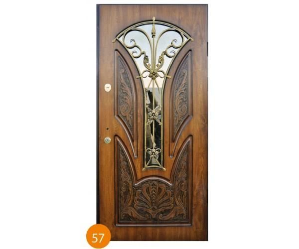 """Двері вхідні вуличні """"Еліт"""" модель 057"""