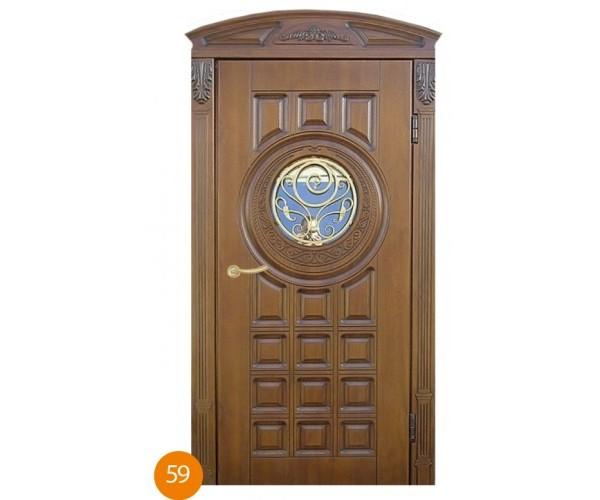 """Двері вхідні вуличні """"Еліт"""" модель 059"""
