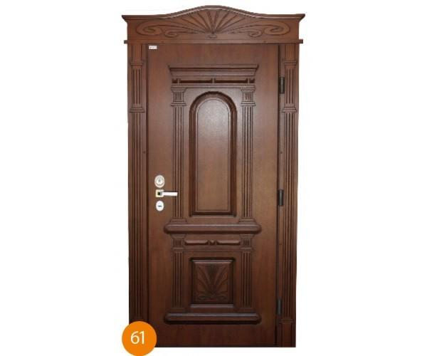 """Двері вхідні вуличні """"Еліт"""" модель 061"""