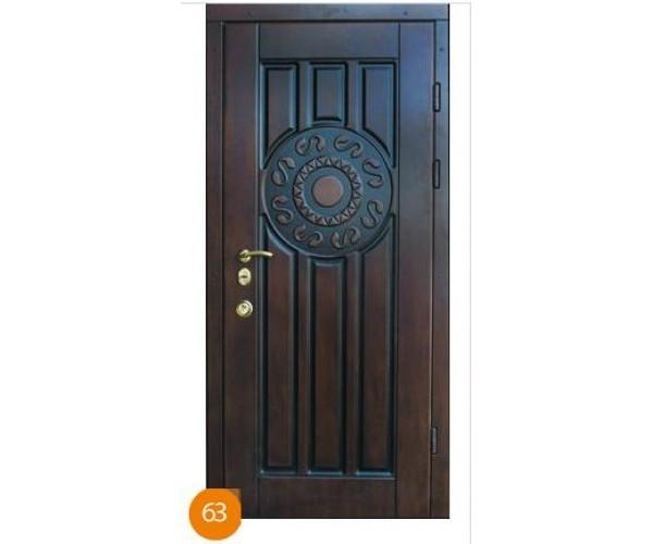"""Двері вхідні вуличні """"Еліт"""" модель 063"""