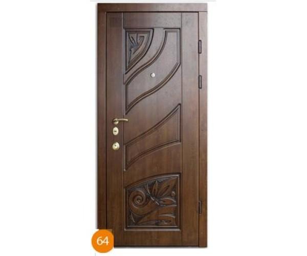 """Двері вуличні """"Еліт"""" модель 064"""