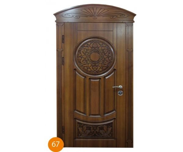 """Двері вхідні вуличні """"Еліт"""" модель 067"""