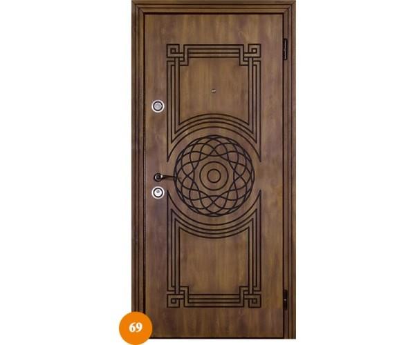 """Двері вхідні вуличні """"Еліт"""" модель 069"""