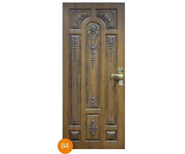 """Двері вхідні вуличні """"Еліт"""" модель 084"""