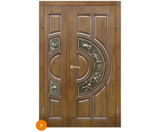 """Двері вхідні вуличні """"Еліт"""" модель 009"""