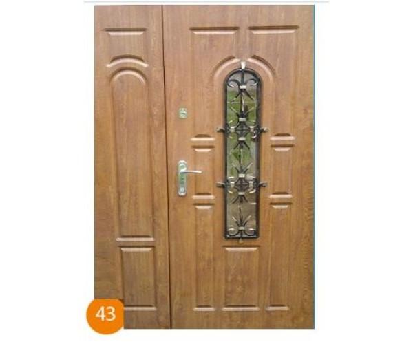 """Двері вхідні група """"Регіон"""" модель 043"""