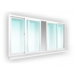Алюмінієві розсувні вікна
